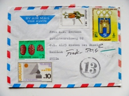 Cover Uruguay Olympic Games Moscow 80 Telecom Soldier Archeology - Uruguay