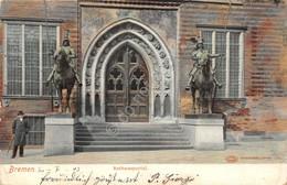 Cartolina Bremen Rathansportal 1903 - Cartoline