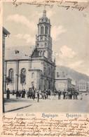 Cartolina Hayingen Hayange Kath Kirche 1900 - Cartoline