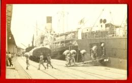909 SHIP OCEAN LINER '' ? '' VINTAGE PHOTO POSTCARD - Ships