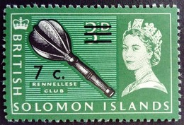 Salomon Solomon 1966 Club Surchargé Overprint Yvert 139 ** MNH - Salomonen (...-1978)