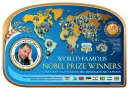 MOZAMBIQUE 2019 MNH Zhores Alferov Nobel Prize Winner Nobelpreisträger Prix Nobel S/S - OFFICIAL ISSUE - DH1926 - Nobelpreisträger