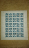 Cameroun : Feuille Complète (pliée En 2) De 50 Exemplaires Du N° 177 - Gomme Coloniale - Cote Timbres Détachés : 55€ - Cameroun (1915-1959)