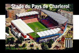CP.STADE .   CHARLEROI  BELGIQUE  STADE DU PAYS DE CHARLEROI # CS. 585 - Soccer