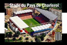 CP.STADE .   CHARLEROI  BELGIQUE  STADE DU PAYS DE CHARLEROI # CS. 585 - Voetbal