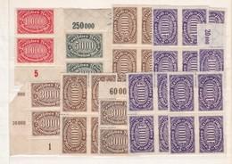 Deutsches Reich - Sammlungreste - Ungebr. - 3. - Ungebraucht