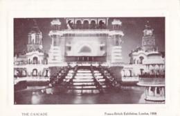 AO86 The Cascade, Franco British Exhibition, London, 1908 - RPPC - Exhibitions