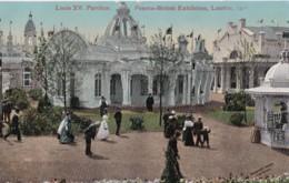 AO86 Louis XV Pavilion, Franco British Exhibition, London, 1908 - RPPC - Exhibitions