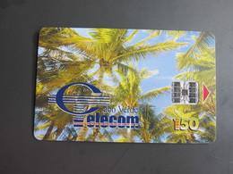 Chip Phonecard, Palm Tree - Cap Vert