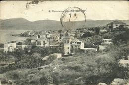 ( BEYROUTH    )  (  LIBAN  ) ( COURRIER ARMEE DU LEVANT )( MILITARIA )19.10. 1921 - Lebanon