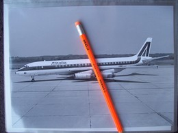 FOTOGRAFIA AEREO DOUGLAS  DC8 / 62  ALITALIA  I-DIWN - Aviation