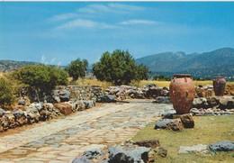 Crète, Carte Postale Mallia. - Grèce