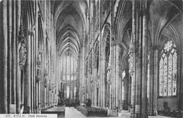 Cartolina Koln Dom Inneres 1911 - Cartoline