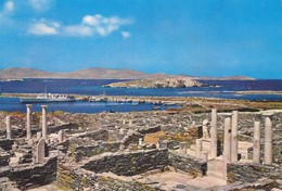 Grèce, Carte Postale Delos. - Grèce