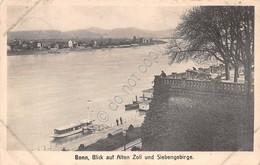 Cartolina Bonn Blick Auf Alten Zoll Und Siebengebirge Anni '10 - Cartoline