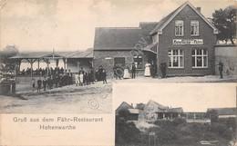Cartolina Hohenwarthe Gruss Aus Dem Fahr Restaurant 1911 - Cartoline
