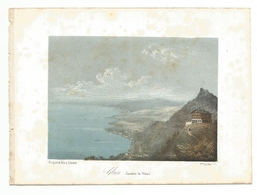 GLION Canton De VAUD - Gouache Et Lithographies Gouachées Dessiné D'aprés Nature BRIQUET Et FILS A GENEVE - Vieux Papiers