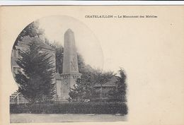 Cp , 17 , CHÂTELAILLON , Le Monument Des Mobiles - Châtelaillon-Plage