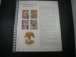 "BELG.1979 1932/35 Filatelic Gold Card FR. : "" MILLENAIRE DE BRUXELLES "" - 1971-80"