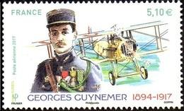 France N° PA  81 ** Poste Aérienne - Georges Guynemer - 1960-.... Postfris