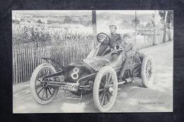 VOITURE - Carte Postale - Circuit D'Auvergne 1905 , Coupe Gordon Bennett - L 36045 - Turismo