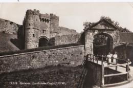 AR44 Entrance, Carisbrooke Castle, I.O.W. - RPPC - Angleterre
