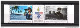 TAAF  N° 718/19 De  2014-  1.32 € -  Triptryque La Gendarmerie Au Iles Eparses Et Au Kerguelen, - French Southern And Antarctic Territories (TAAF)