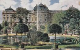 AM38 Wurzburg Residenz - Artistic Postcard - Wuerzburg
