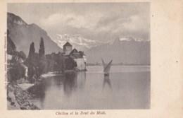 AM38 Chillon Et La Dent Du Midi - Early Undivided Back - GE Geneva