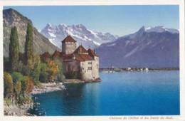 AM38 Chateau De Chillon Et Les Dents Du Midi - GE Geneva