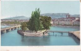 AM38 Geneve, Vue Generale - Early Undivided Back Postcard - GE Geneva