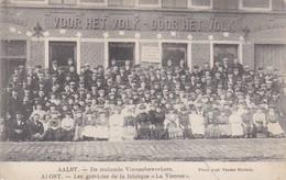 619 Alost Les Grevistes De La Fabrique La Viscose - Aalst