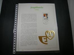 "BELG.1981 2021 Filatelic Gold Card NL. : "" JEUGDFILATELIE 1981 "" - 1981-90"