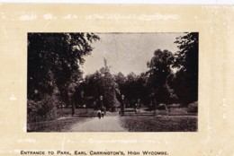 AS63 Entrance To Park, Earl Carrington's, High Wycombe - Buckinghamshire