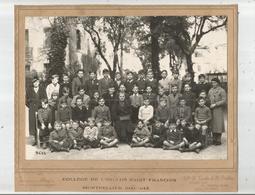 MONTPELLIER (HERAULT) PHOTO DU COLLEGE DE L'ENCLOS SAINT FRANCOIS 1941 1942) CLASSE DE GARCONS - Lieux