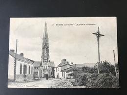 BRAINS - L'Eglise Et Le Calvaire - France