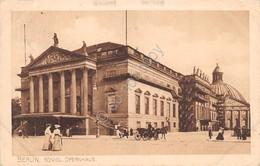 Cartolina Berlin Konigl. Opernhaus 1912 - Cartoline