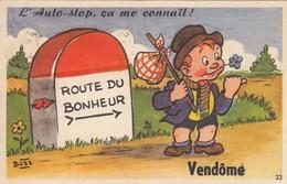 VENDOME   CARTE A SYSTEME - Vendome