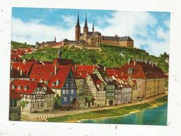 Cp, Allemagne , BAMBERG / Ofr. ,  Michelsberg Mit Regnitz ,  Vierge - Bamberg