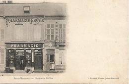 SAINTE MENEHOULD PHARMACIE BAILLON ANCIENNE PHARMACIE FORTE  TRES RARE - Sainte-Menehould