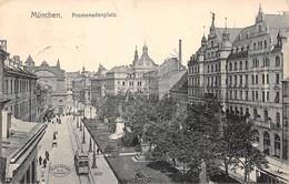 Cartolina Munchen Promenadenplatz 1907 - Cartoline