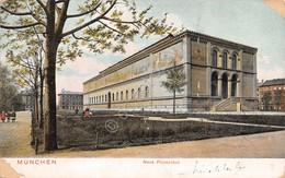 Cartolina Munchen Neue Pinakothek 1908 Damaged - Cartoline