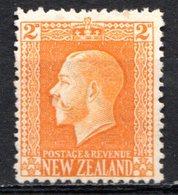 OCEANIE - Nelle ZELANDE - (Colonie Britannique) - 1915-22 - N° 150 - 2 P. Jaune-orange - (George V) - 1855-1907 Crown Colony