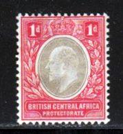 Afrique Centrale 1907 Yvert 69 * TB Charniere(s) - Nyasaland (1907-1953)
