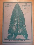 Revue Scout De France 120 1930 Terre D'arles Pont De Plougastel Paul Coze Lourdes Chef Scout De 1921 à 1930 - Books, Magazines, Comics