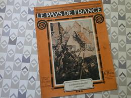 PAYS DE FRANCE N°33. 3/6/15. FUSILIERS MARINS. BELGIQUE. DIXMUDE. ARTOIS. GOUMIERS. ALBERT. DIABLES BLEUS. DARDANELLES. - Français