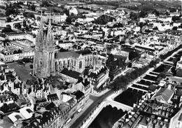¤¤   -   QUIMPER    -   La Cathédrale  Et Les Passerelles Sur L'Odet   -   ¤¤ - Quimper