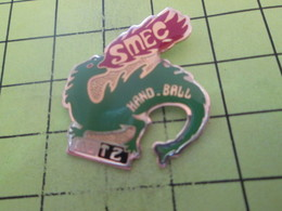 1018a Pin's Pins / Beau Et Rare : THEME : SPORTS / HANDBALL METZ DRAGON SMEC - Handball
