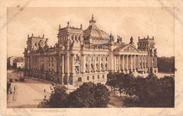 Cartolina Berlin Rechstagsgebaude 1912 - Cartoline