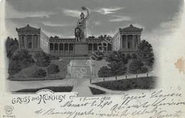 Cartolina Munchen Gruss Aus 1900 Spotted - Cartoline